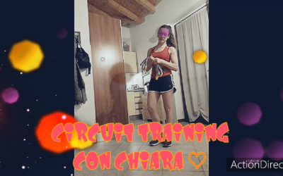 CIRCUIT TRAINING 1 con Chiara