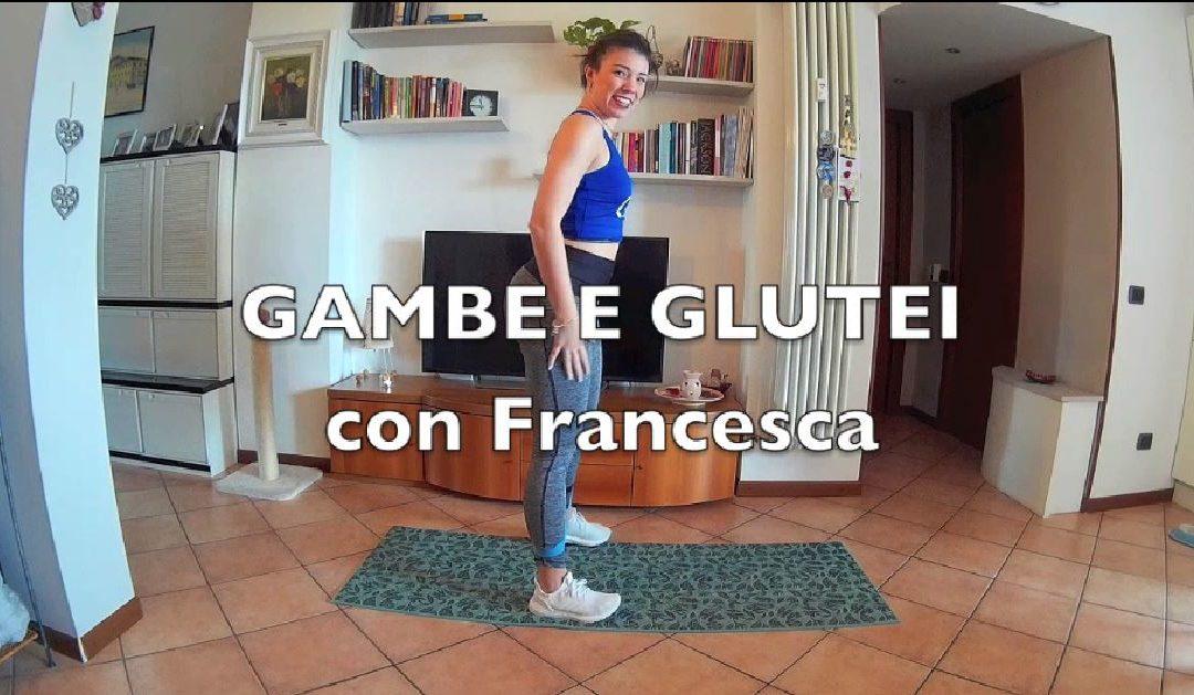 BOOTY AND LEG KILLER con Francesca