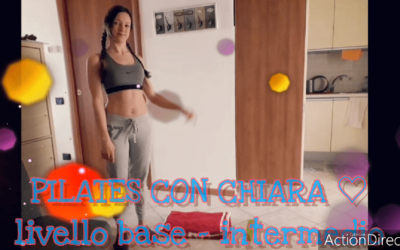PILATES MAT – LIV. BASE/INTERMEDIO con Chiara